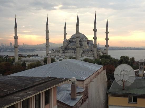 Lady Diana Hotel: moschea blu