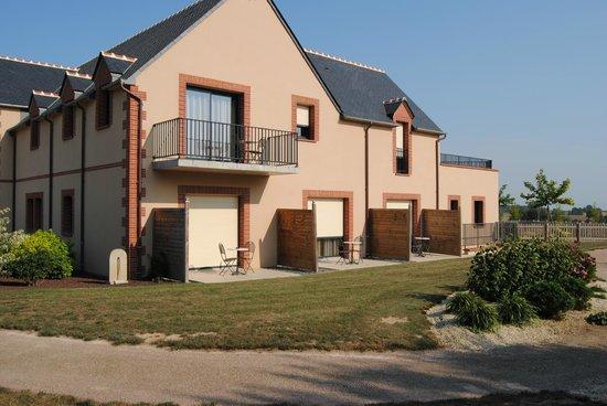 Maison d'hotes du Blavon: Chambres vue de l'extérieur