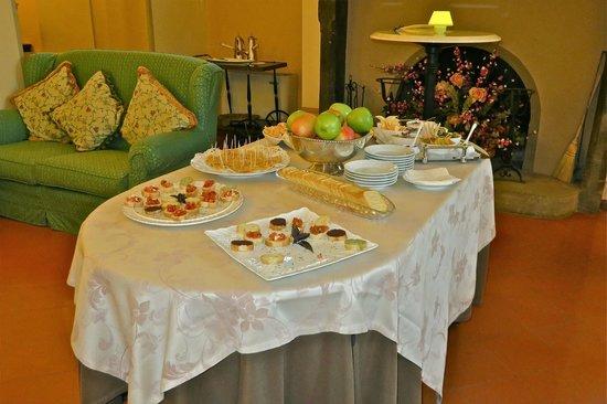Villa Marsili: Before dinner appetizers