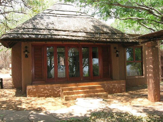 Sanctuary Chobe Chilwero: Blick auf das Chalet.
