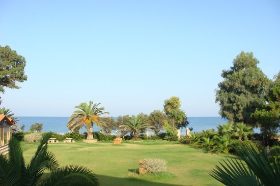 Irida Resort: See view from our hotel balcony