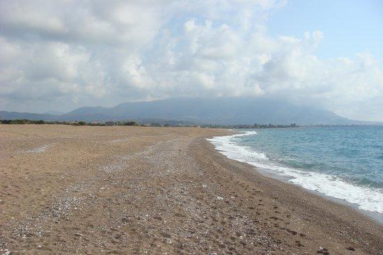 Irida Resort: Beach