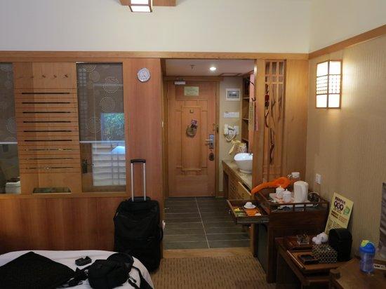 Yu Hotspring Resort: Zimmer
