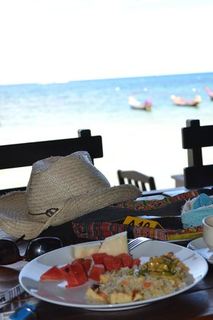 Seashell Resort Koh Tao: Breakfast