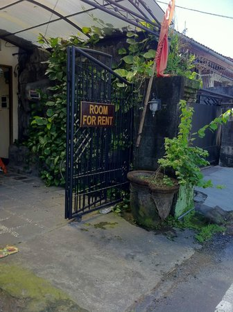 Puri Dukuh Accommodation: Front Gate