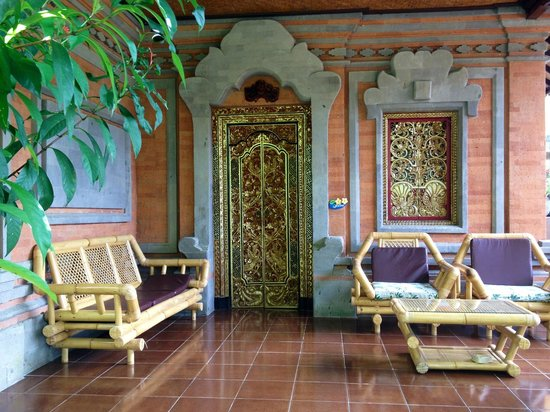 Pondok Permata Homestay: Balcon