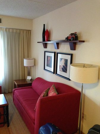 Residence Inn Newark Elizabeth/Liberty International Airport: Nice living room