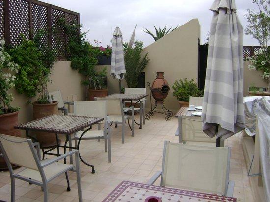 Riad Shanima & Spa: Terrasse