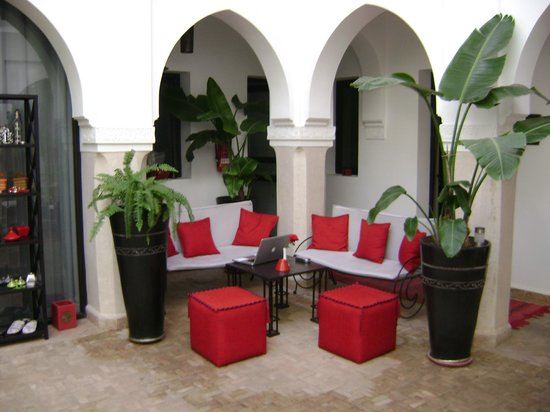 Riad Shanima & Spa: Petit salon