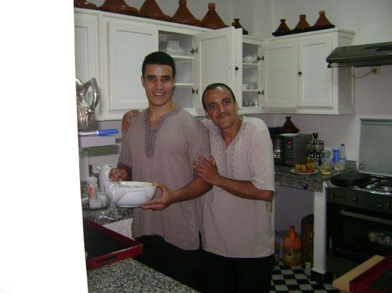 Riad Shanima & Spa: Les garçons de l'équipe