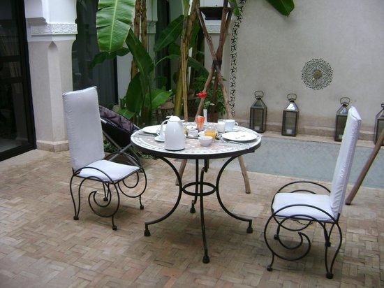 Riad Shanima & Spa: Petit déjeuner
