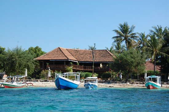 Villa Karang Hotel and Spa : hotel dalla spiaggia