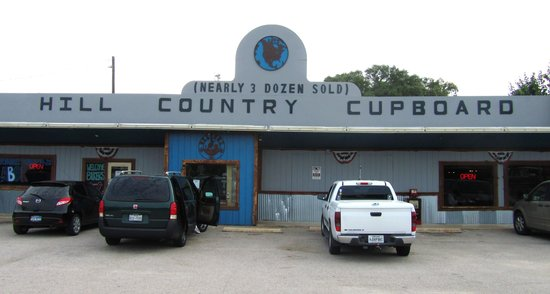 Hill Country Cupboard: store front