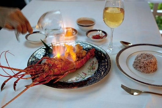 Ruen Thai: Lobster Flambé