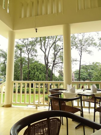 FCC Angkor : view from 1st floor