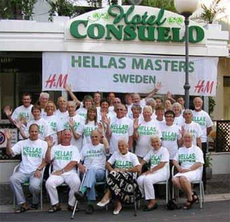 Hotel Consuelo: 2004 besökte Hellas Masters med sin trupp