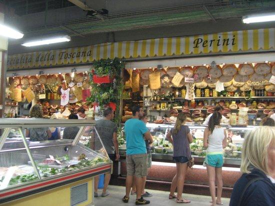 Botticelli Hotel: The Perini stall at the market hall. Sandwiches! :)