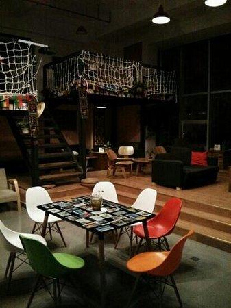 Chengdu Free Guys Youth Hostel: Lounge