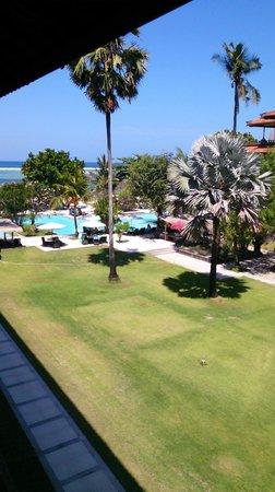 Peninsula Beach Resort Tanjung Benoa: view from 2nd floor room