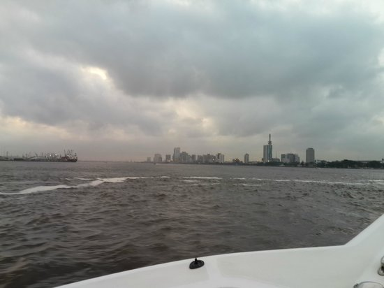 Radisson Blu Anchorage Hotel, Lagos: Lagos from boat