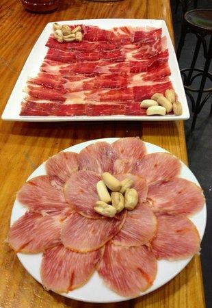 Dehesa Santa Maria: Tabla jamon