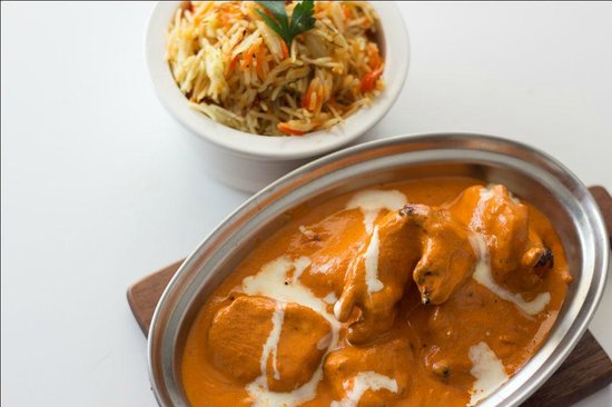 Flamin' Grill: Butter Chicken with Vegetable Biryani