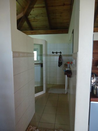 de Vos The Private Residence: Bathroom with walk in shower with dual shower heads