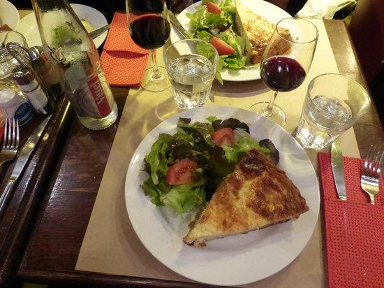 L'Aristide Café: Best Quiche!