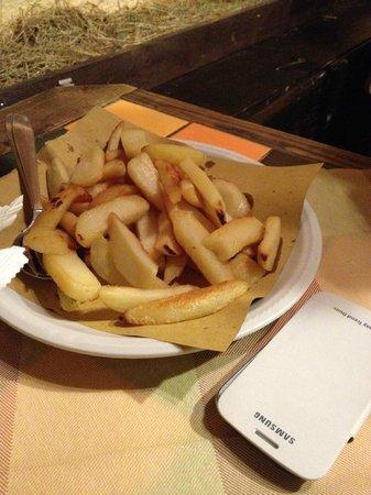 La Grolla: contorno di patate