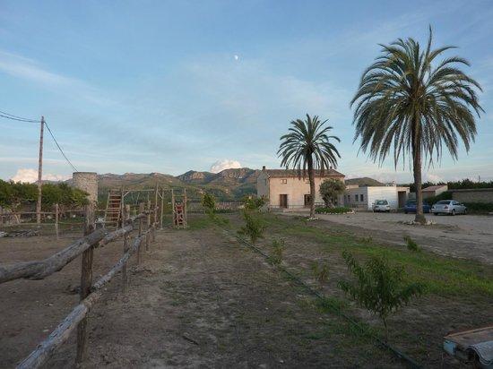 Mas Taniet L'Hotelet Rural : vista a la carretera de mas taniet