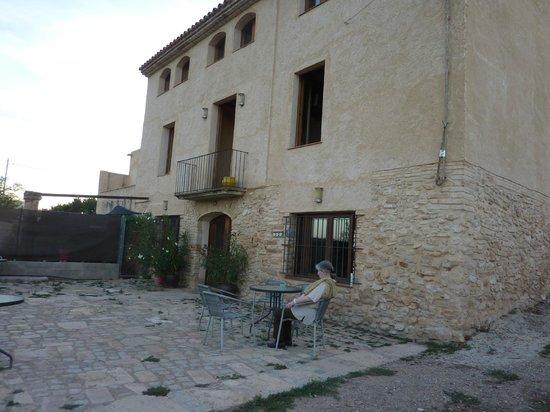 Mas Taniet L'Hotelet Rural : vista al campo de mas taniet