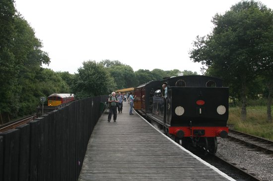 Isle of Wight Steam Railway: Smallbrook Junction