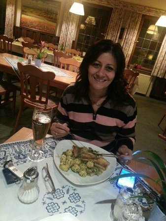 Landgut-Hotel Gelber Loewe: Fish with potatoes