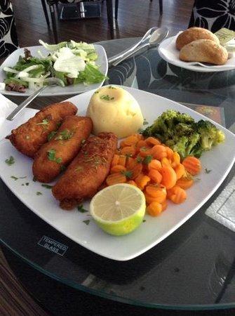 Livadhiotis City Hotel : food for dinner