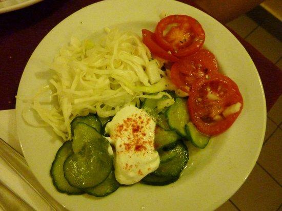 Kék Rózsa Restaurant: Insalate