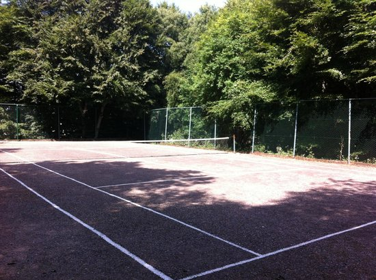 Kiltarlity Lodges: Anyone for tennis?