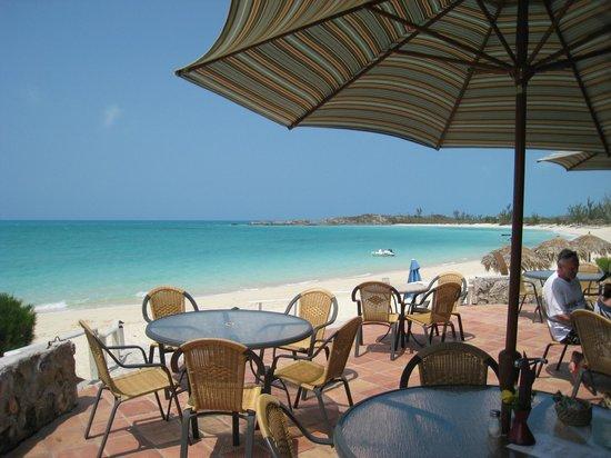 Fernandez Bay Village : terrasse restaurant