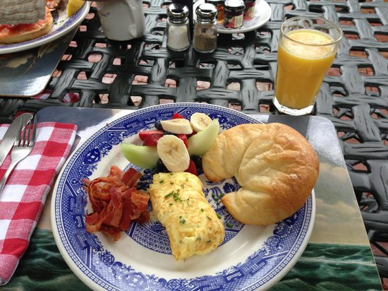 Union Street Inn: One of four rotating breakfast options