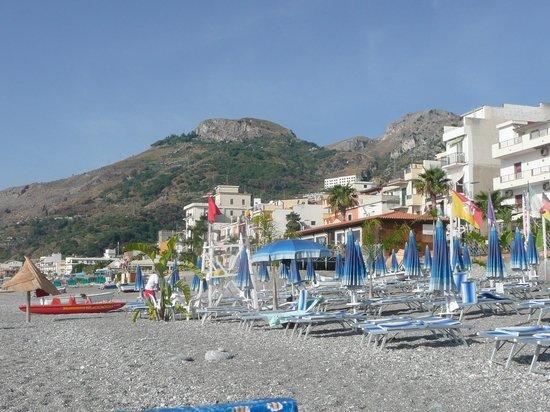 Hotel da Peppe: Plaża hotelowa
