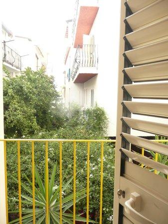 Hotel da Peppe: Widok z balkonu