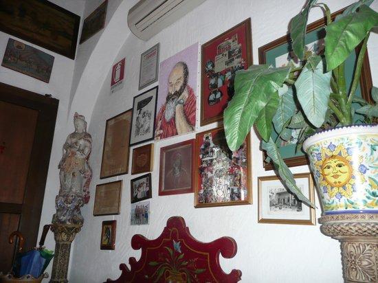 Hotel da Peppe: Fragment recepcji