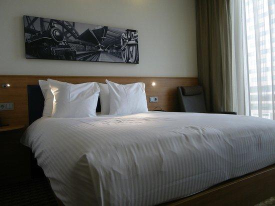 Hampton by Hilton Amsterdam / Arena Boulevard: très bonne literie