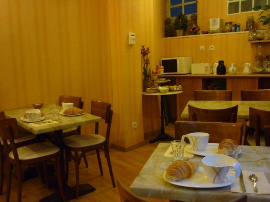 Hôtel du Centre : Salle des petit-déjeuners