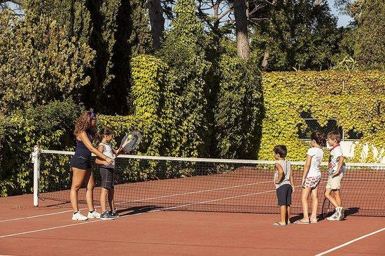 Hotel Continental Ischia: Tennis court