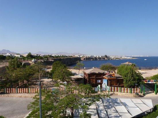 Dreams Beach Resort: View north