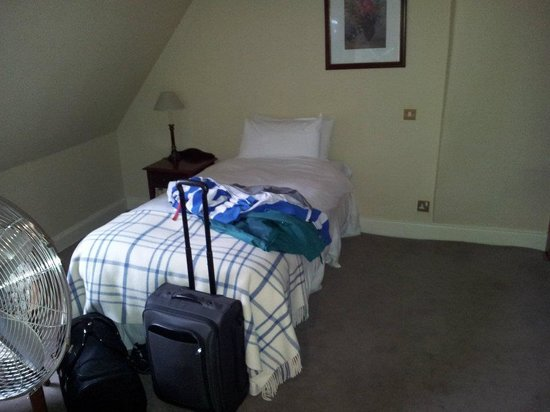 BEST WESTERN PLUS Edinburgh City Centre Bruntsfield Hotel : Single bed