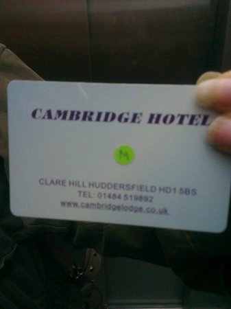 Cambridge Hotel: We were given the Master Key by mistake!