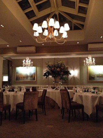 St Michael's Manor Hotel: Evening meal
