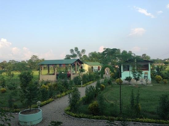 Hotel Rhino Land: view from the balcony