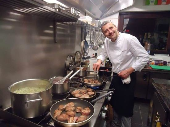 Heverlee, Belgien: chef Roberto di meo